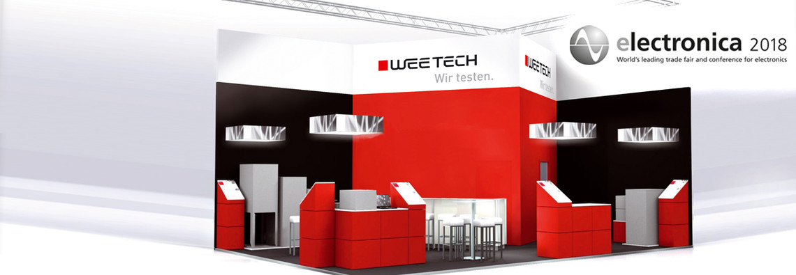 Please visit us at our booth 524 in hall A3 at electronica 2018 between November 13 to November 16.
