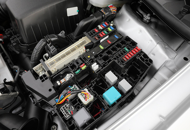 Wiring Fuse Box Automotive : Functional test of cable harnesses incl relay box